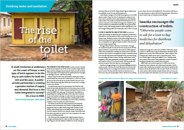 Article on FINISH in Kenya in Vice Versa (Dutch Magazine on global development), January 2019
