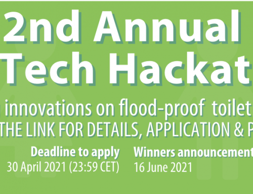 Deadline extended! 2nd Annual SanTech Hackathon: Innovating in safely managed sanitation solutions for flood-prone & high-water table areas